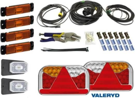 Повече информация за Електрическа система и светлини на ремаркето